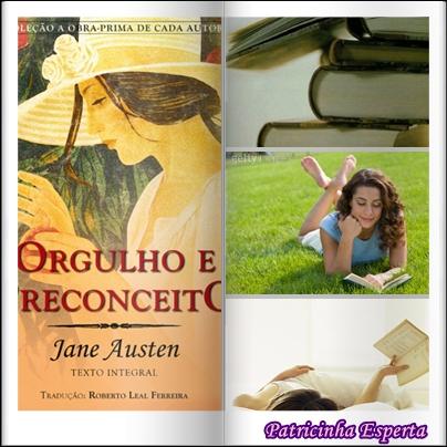 dicadelivro - Dica de Livro - Orgulho e Preconceito, Jane Austen