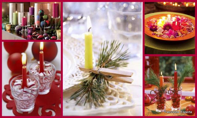 2011 12 0810 - Decoração de Natal: Velas