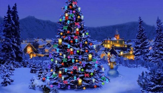 Arvore de natal vizinhanca 7646 1024x768 - Simbolismos do Natal - Parte 1
