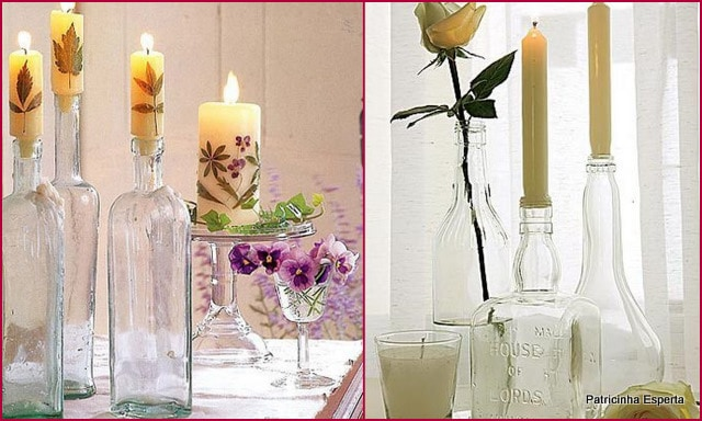 2012 01 0451 - Reutilizando Garrafas de Vidro na Decoração