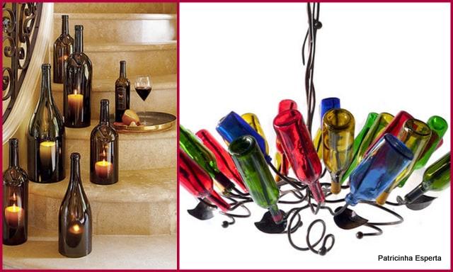 2012 01 047 - Reutilizando Garrafas de Vidro na Decoração