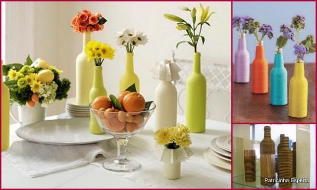2012 01 049 - Reutilizando Garrafas de Vidro na Decoração