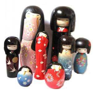 kokeshi estilo criativo - Minhas Kokeshis e um pouco de história sobre elas