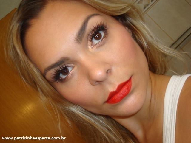 056post - Tutorial - Maquiagem inspirada na atriz Milla Jovovich  - Oscar 2012