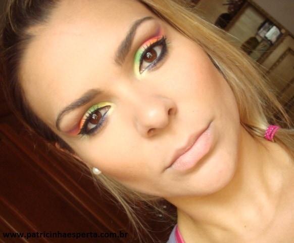 149post - Tutorial - Maquiagem de Carnaval Neon