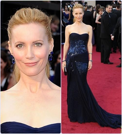 Leslie Mann - Os 5 melhores looks do Oscar 2012