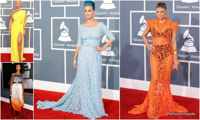 Patricinha Esperta25 1 - Looks do Grammy 2012