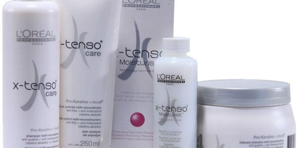 kit escova liso molecular cabelos naturais resistentes 1 - X-Tenso Care Escova Liso Molecular Cabelos Coloridos