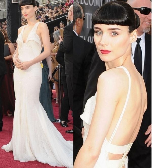 oscars 2012 rooney - Os 5 piores looks do Oscar 2012