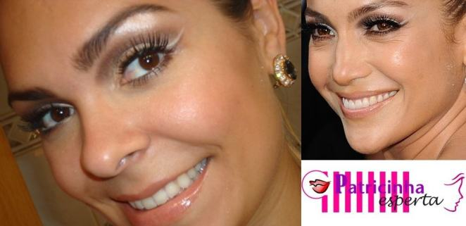 005post - Tutorial - Maquiagem inspirada na atriz Jennifer Lopez - Oscar 2012