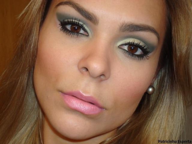 """006post3 - Maquiagem Verde Musgo - Paleta """"Coleção Fresh - Avon"""""""