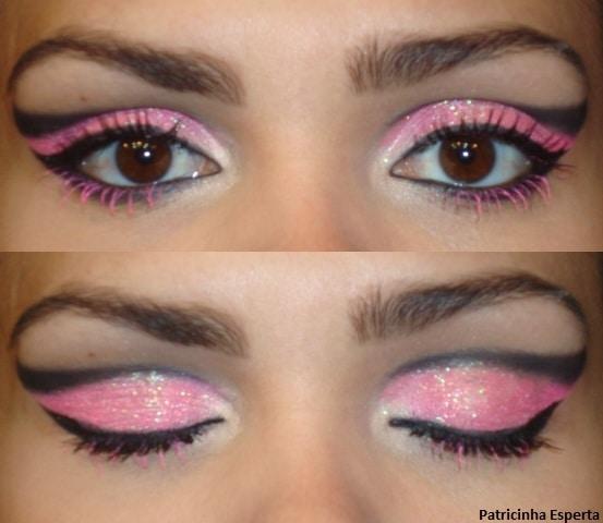 009post2 - Maquiagem para Balada - Rosa Fluorescente com Rímel Pink