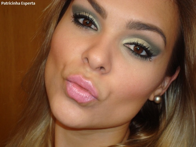 """010post - Maquiagem Verde Musgo - Paleta """"Coleção Fresh - Avon"""""""