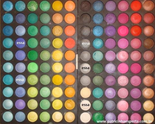 032post - Maquiagem para noite com rímel azul