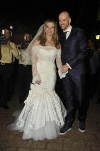 Sheila Melo 198x300 - Os vestidos de noiva das famosas (parte 1)