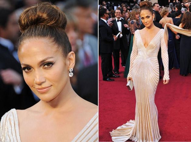 jennifer lopez oscar 2012 1 - Tutorial - Maquiagem inspirada na atriz Jennifer Lopez - Oscar 2012