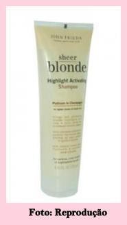 n John Frieda Sheer Blonde Highlight Activating Shampoo 22098661l - O Diário de uma loira - 1º dia