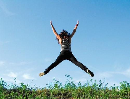 saltando de alegria - Lista de Doenças X Causas Emocionais - Parte 11