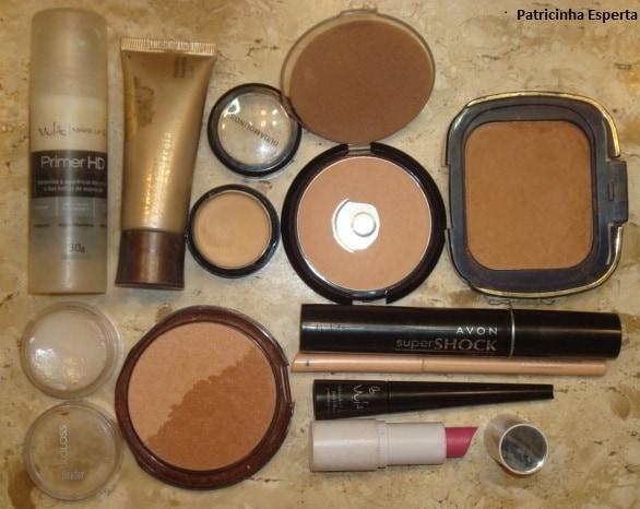 035post - Maquiagem Suave Lilás e Chumbo