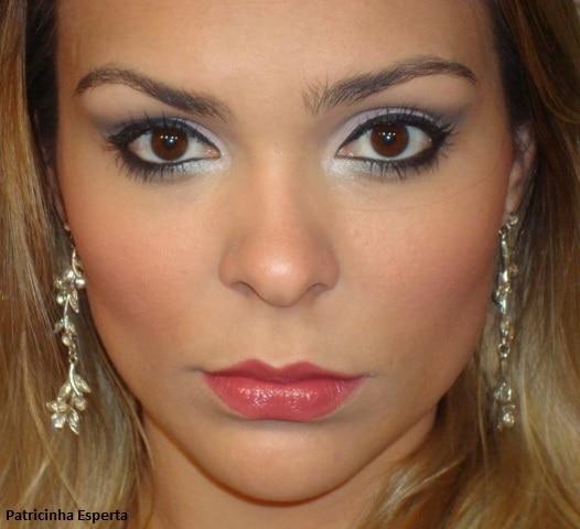 032post - Maquiagem Rosa Suave e Chumbo