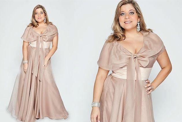 vestido plus size para madrinha 8 - Moda GG: Vestido de Festa - Parte 2