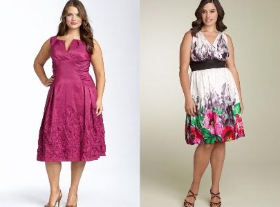 vestidos plus size 2013 modelos fotos - Vestido certo para Gordinhas