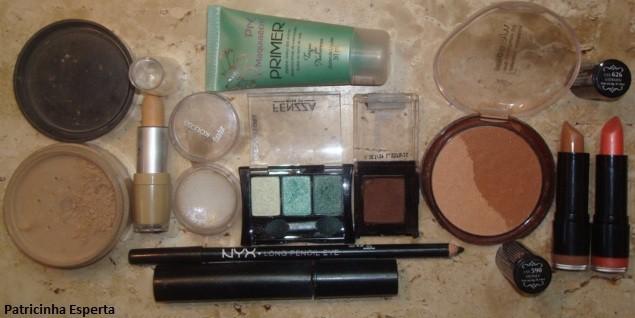 019 - Maquiagem Verde para Festas e Baladas - Trio de Sombras Fenzza