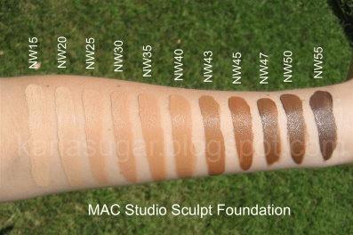 MAC tons de Nw Rosados - Como Maquiar Peles Negras – Exemplos de Bases MAC e Mary Kay