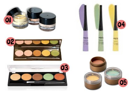 corretivos coloridos - Como Maquiar Peles Negras – Escolha do Corretivo