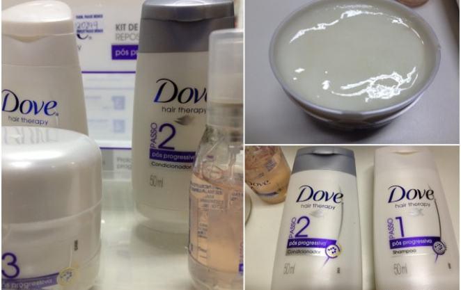 2012 09 18 - Kit Reposição de Keratina Dove -Pós Progressiva