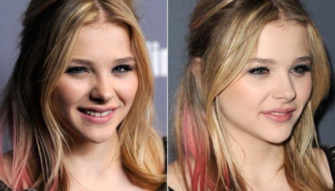 cabelos coloridos hairspray2 - Elas Usam:  Mechas e Pontas Coloridas Em Degradê