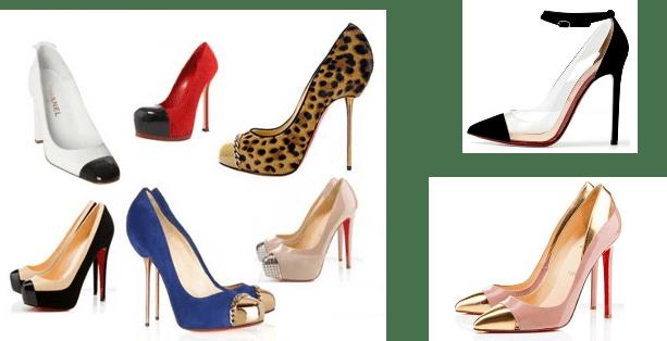 Cap Toes - Sapatos que serão destaque em 2013!