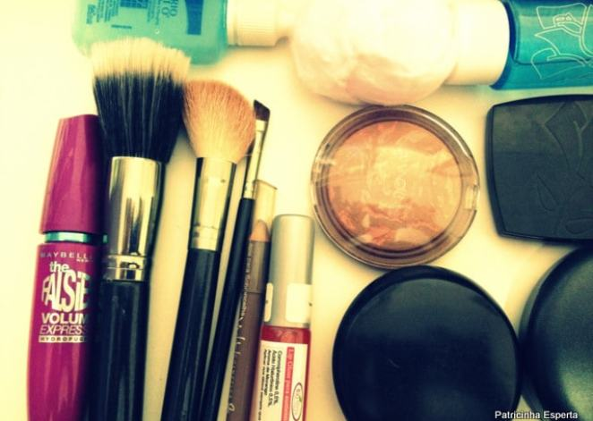 IMG 1303 - O Que Não Falta no Meu Nécessaire de Maquiagem
