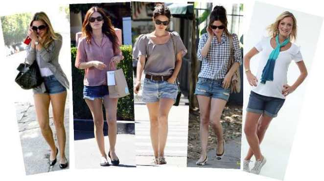 Shorts jeans 3 - Shorts Jeans! uma moda eterna!