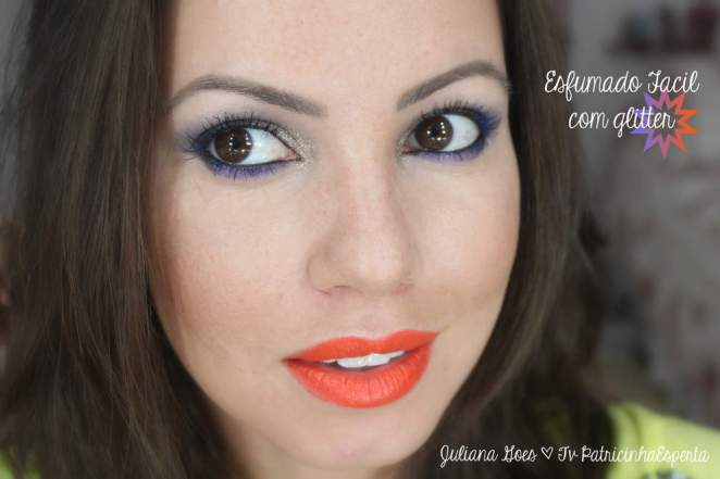 juliana goes bbb8 - Maquiagem de Carnaval Fácil e Rápida