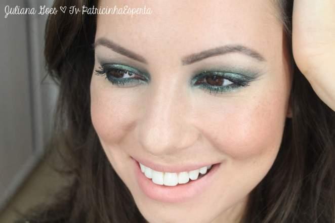 juliana goes thumbnail - Esfumado Verde Metalizado e Poderoso: Tendência 2013!