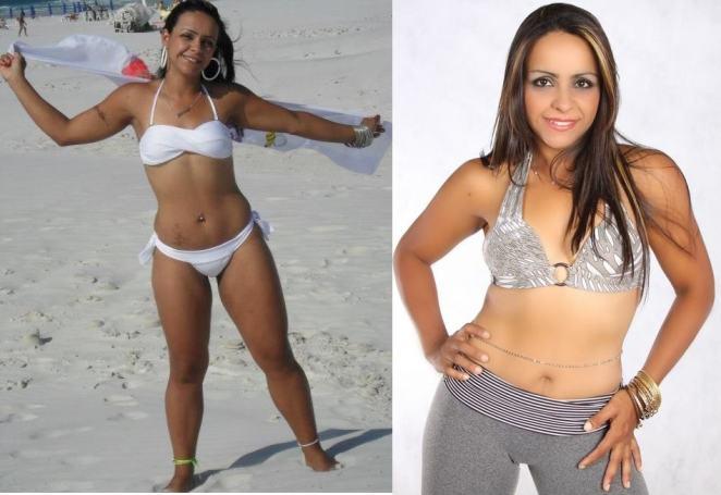 michele depois - Conheça a dieta que secou 25kg da mineira Michele Ribeiro