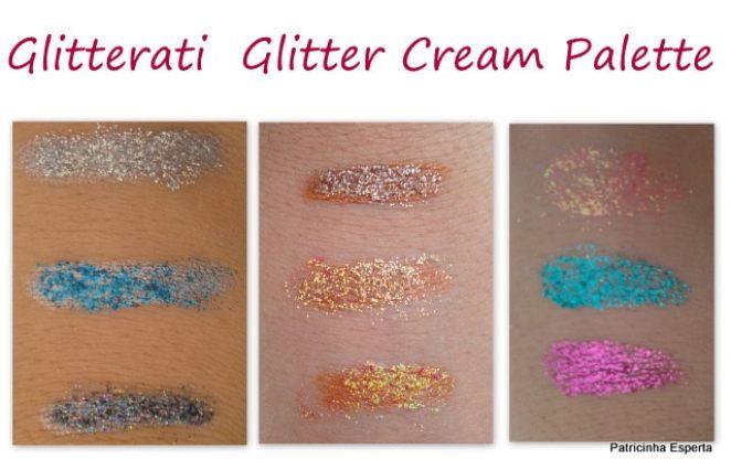 2013 03 04 - Glitterati Glitter Cream Palette - Nyx