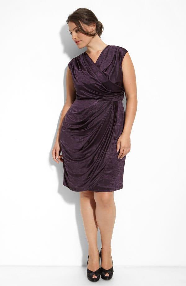 10 vestido festa gordinhas - Como disfarçar as gordurinhas com as roupas?