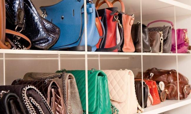 Bolsas - Como armazenar e limpar as bolsas