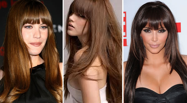 cortes cabelo com franja - Franjas: a nova hair trend de inverno