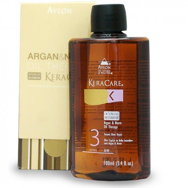 avlon keracare intensive restorative argan   neem oil therapy 100ml 660x660 - Top 3 Óleos Capilares