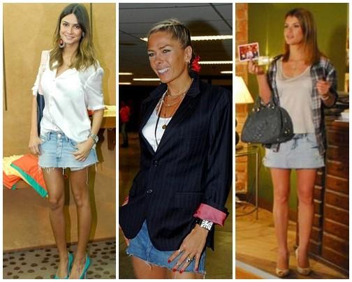 saia jeans 2012 - Aposte no jeans!