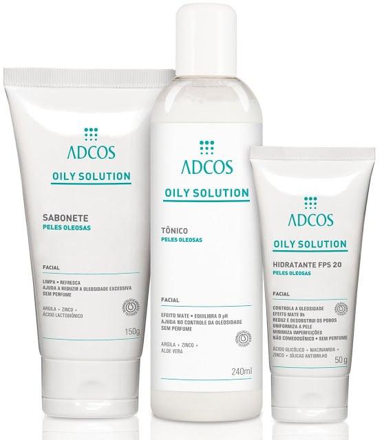 ADCOS Pack Oily Solution1 - Sabonete Oily Solution - Adcos