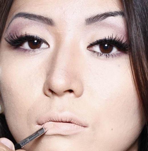 foto dicas de maquiagem inverno 2013 batom bege mate - Descubra o tom de batom ideal para sua pele