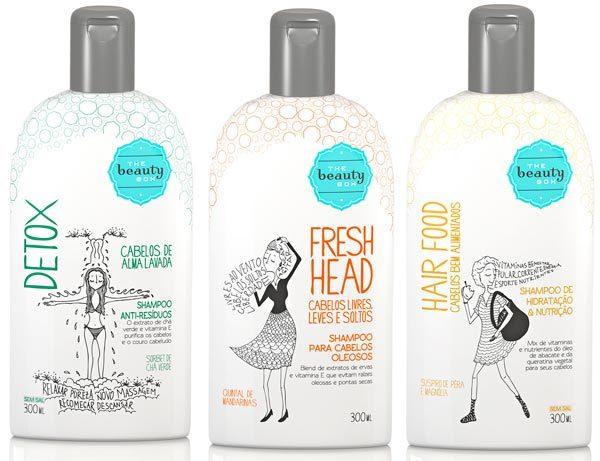 shampoo the beauty box - Detox Pra Pele e Cabelo: Conhece?