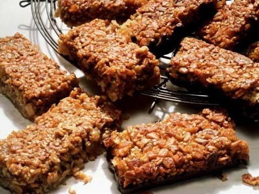 barra de cereais - Aprenda a fazer barrinha de cereal