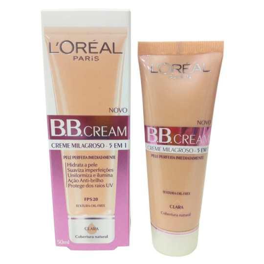 loreal paris b b cream creme milagrosso 5 em 1 3057 1 20130405182820 - Bom e barato: BB Cream L´Oréal