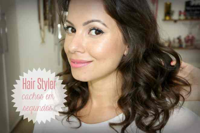 juliana goes hair styler miracurl - Hair Styler Polishop | Cachos Perfeitos, na Hora!