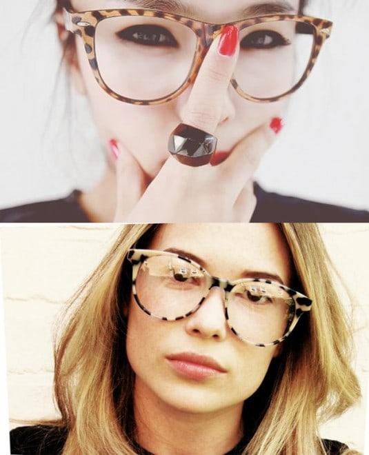 oculos estampados 535x660 - Dicas de maquiagem para quem usa óculos
